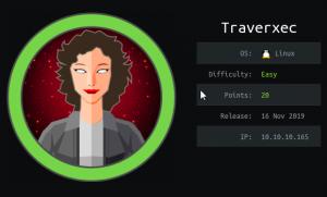HackTheBox : Traverxec Walkthrough