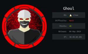 Ghoul hackthebox walkthrough – Part 2