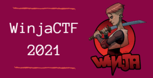 WinjaCtf 2021 solutions